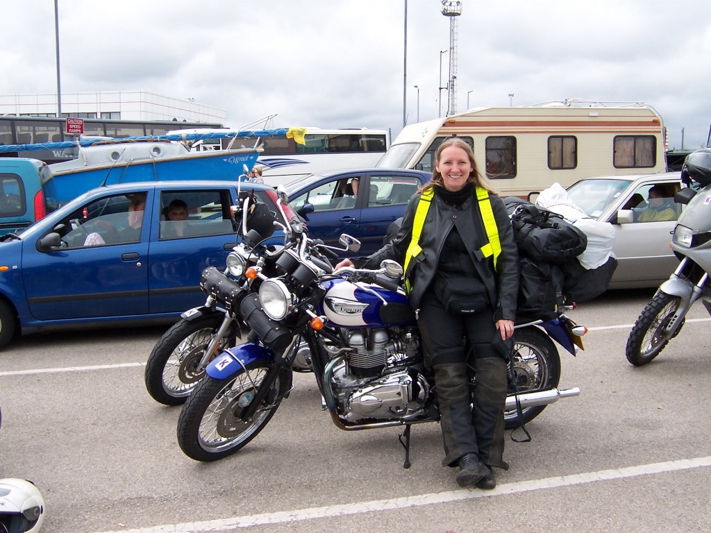 Waiting for the ferry to Norway at Newcastle (2006)