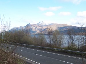Ben Lomond from the A82
