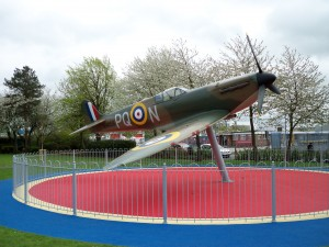 Spitfire at Grangemouth
