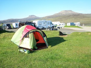 Camping at Kinloch Campsite