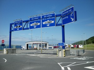 New Stena Lines ferry terminal at Cairnryan