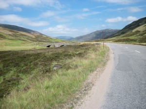 A93 after Glenshee